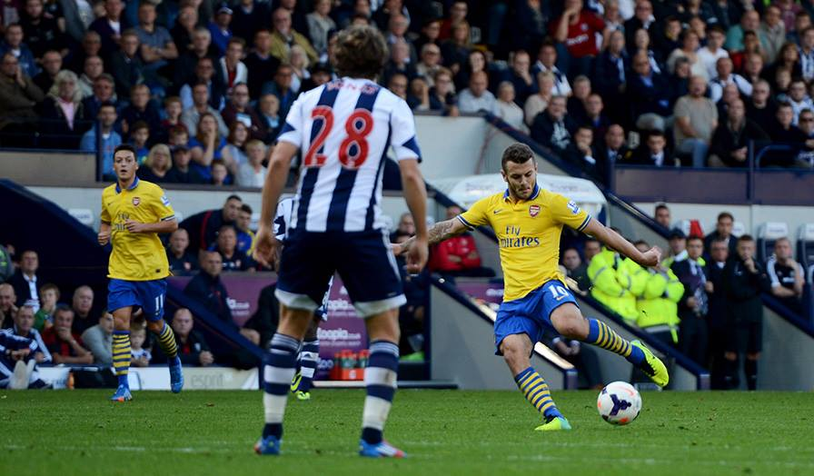 West Bromwich Albion 1-1 Arsenal