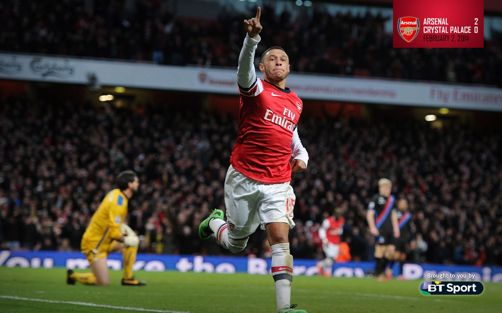 February 2, 2014 - Arsenal 2-0 Crystal Palace
