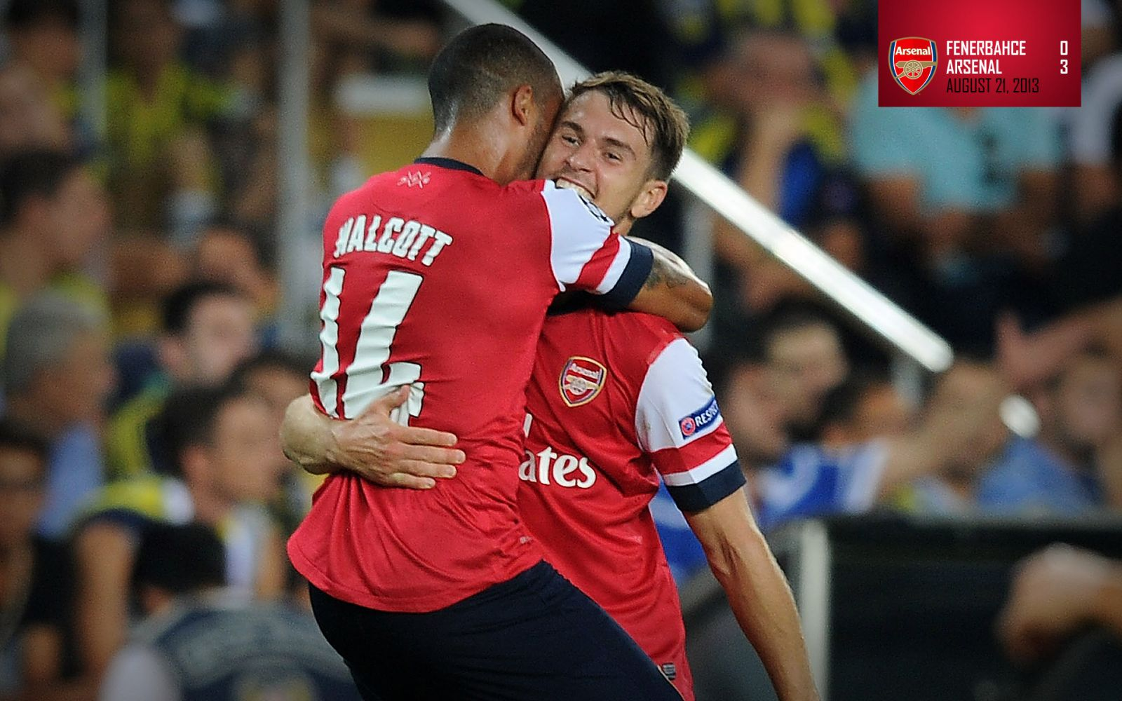 August 21, 2013 - Fenerbahce 0-3 Arsenal