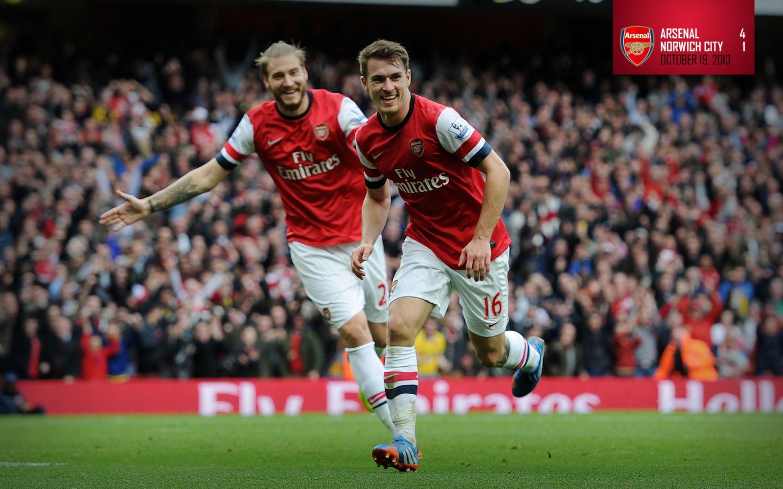 October 19, 2013 - Arsenal 4-1 Norwich