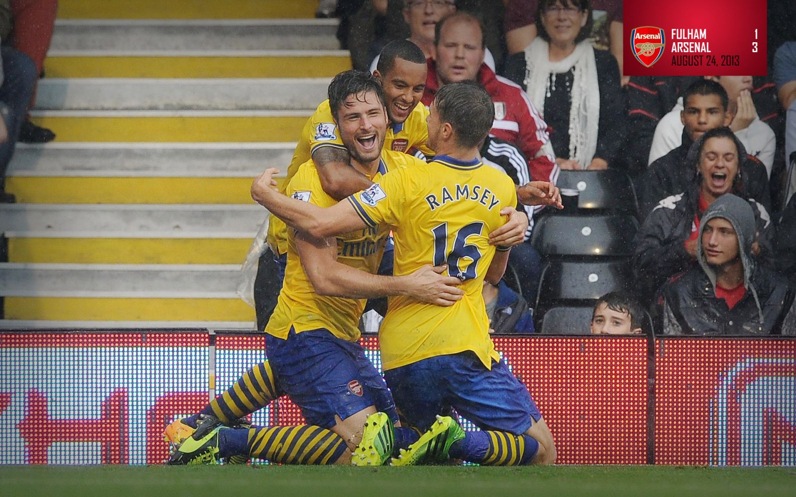 August 24, 2013 - Fulham 1-3 Arsenal
