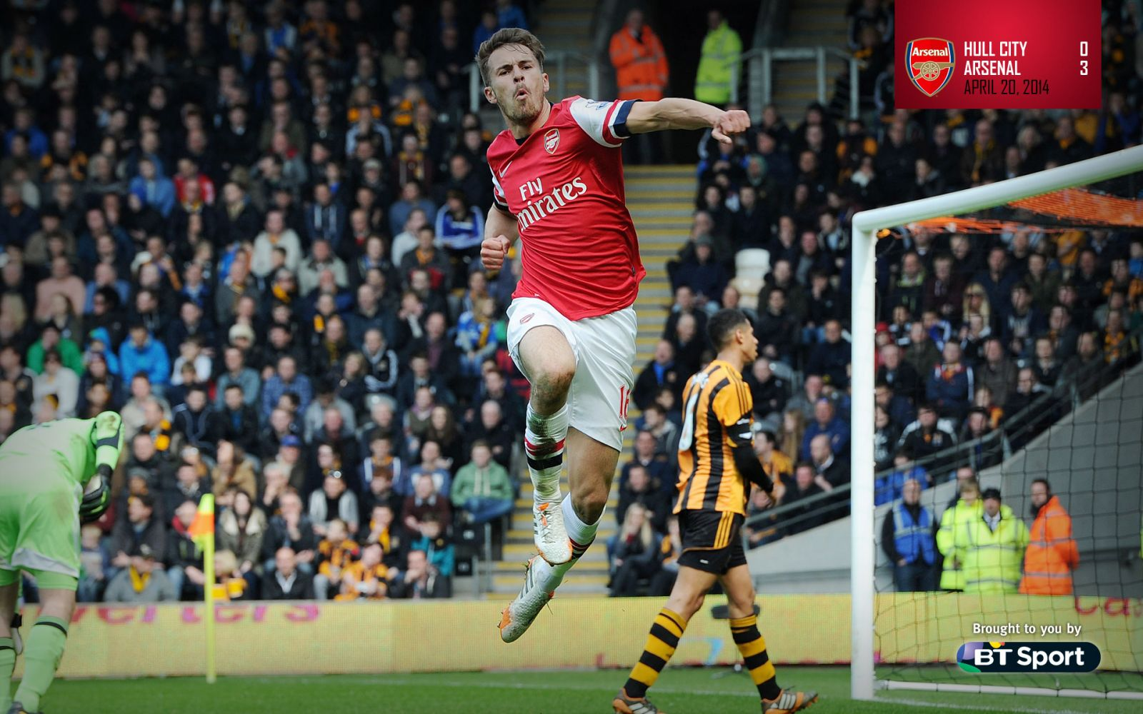 April 20, 2014 - Hull City 0-3 Arsenal