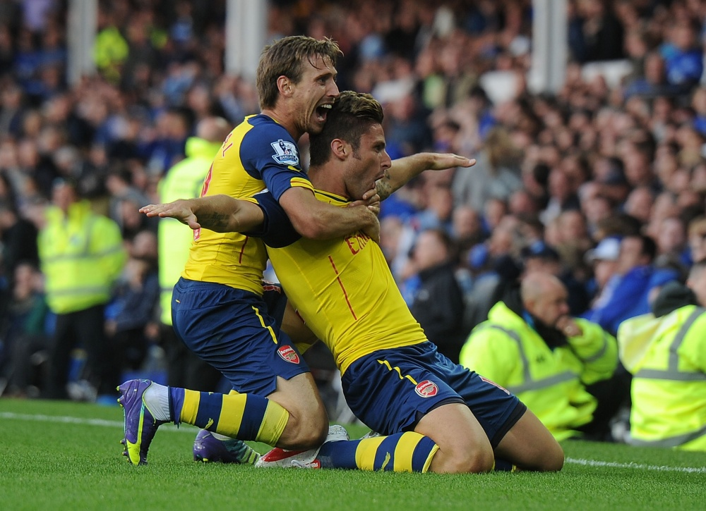 Everton 2-2 Arsenal